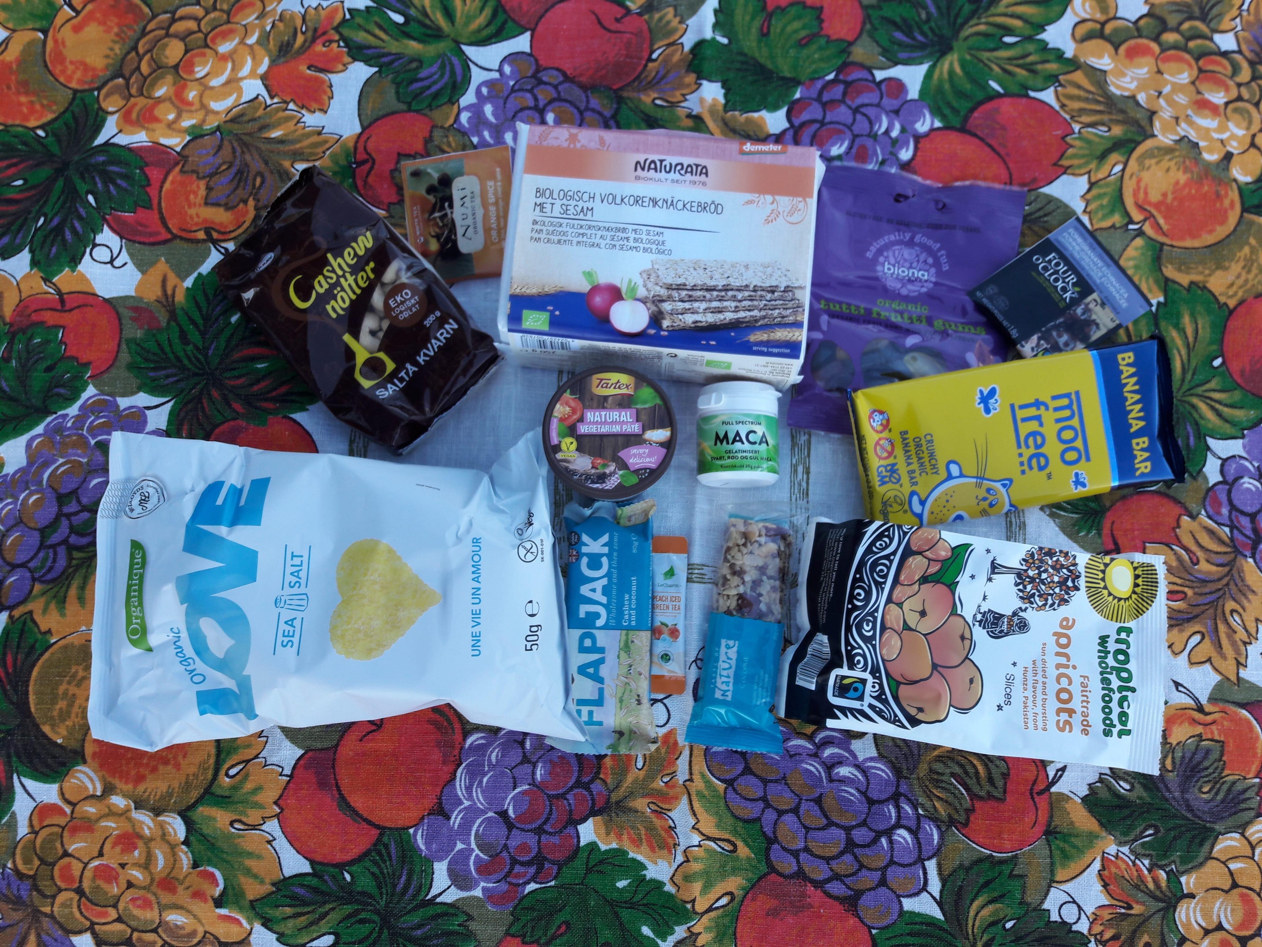 DiggBox: Snack matkasse