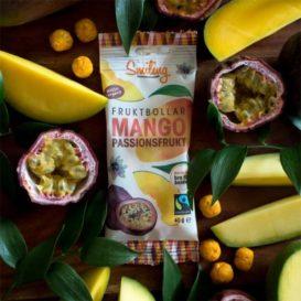 Fruktkuler med mango og pasjonsfrukt Smiling