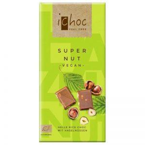 iChoc rissjokolade med hasselnøtter