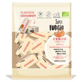 Kokosfudge økologisk Super Fudgio