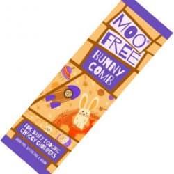 Moo Free Bunnycomb melkefri sjokolade