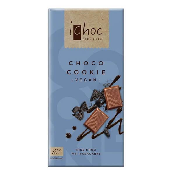 iChoc cookie sjokolade laktosefri melkefri økologisk