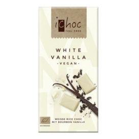 iChoc vanilla sjokolade laktosefri vegansk melkefri