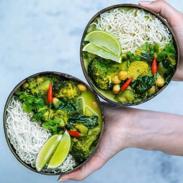 Grønn curry 1 k