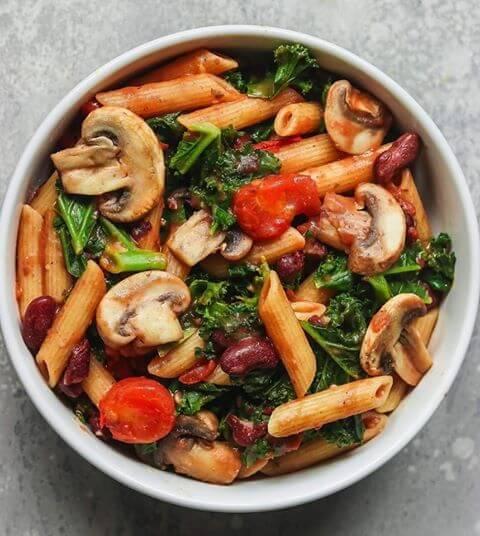 blogg oppskrifter sunn vegetar glutenfri mat