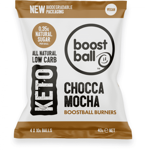 Boostball Burners Chocca Mocha lavkarbo snacks