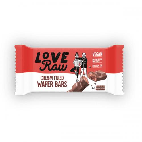 LoveRaw Cream Wafer vegansk godteri