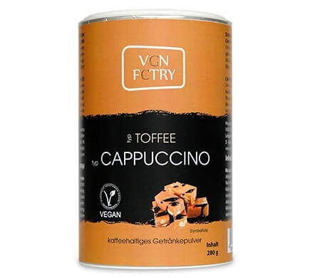 VGN FCTRY CAPPUCCINO Toffee pulverkaffe