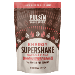 Pulsin Energy Supershake vegansk proteinpulver