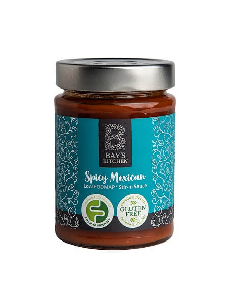 Bays Kitchen Spicy Mexican Sauce lav fodmap taco