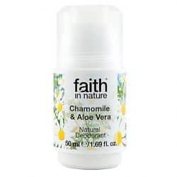 Faith in Nature Chamomile Aloe Vera deodorant uten aluminium