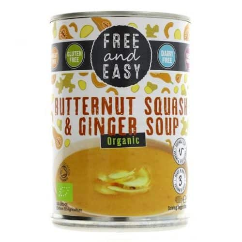 Free and Easy Butternut Squash Ginger