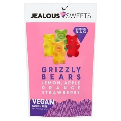 Jealous Sweets Grizzly Bears godteri uten gelatin
