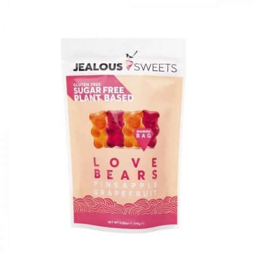 Jealous Sweets Love Bears sukkerfritt godteri