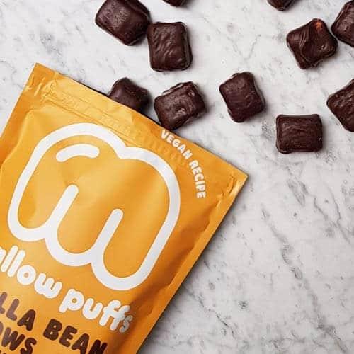 Mallow Puffs Vanilla Bean Mallows 1 k