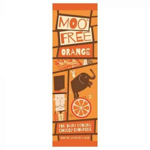 Moo Free Orange melkefri sjokolade