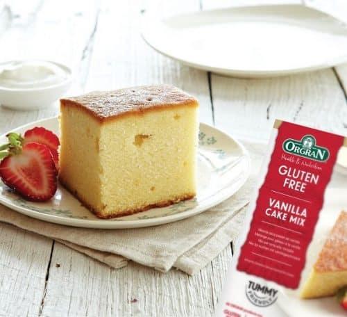 Orgran Vanilla Cake bakemix 1 k