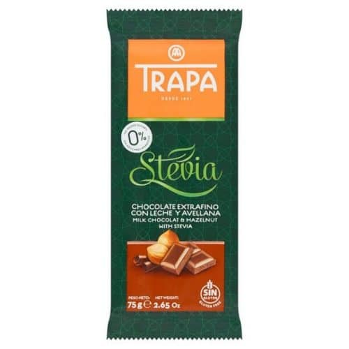 Trapa melkesjokolade lavkarbo og sukkerfri