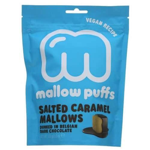 Mallow Puffs Salted Caramel Mallows vegansk marshmallows