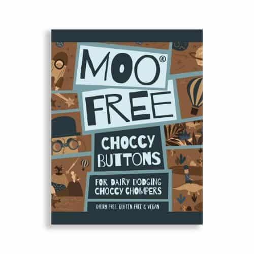 Moo Free Choccy Buttons sjokoladeknapper