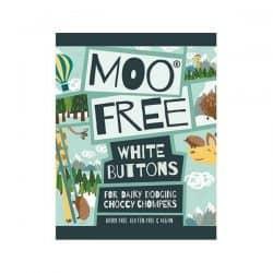 Moo Free White Choccy Buttons sjokoladeknapper