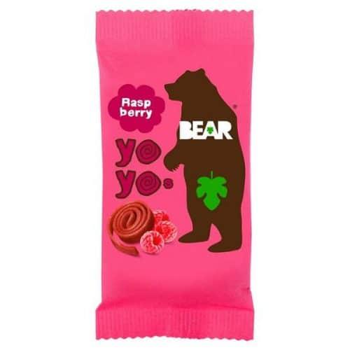 BEAR Yoyos Raspberry sunn snacks