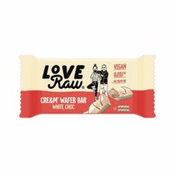 LoveRaw White Choc Cream Wafer