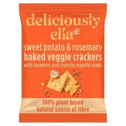 Deliciously Ella Sweet Potato Crackers