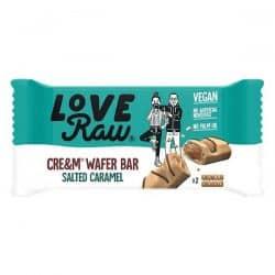 LoveRaw Salted Caramel Cream Wafer